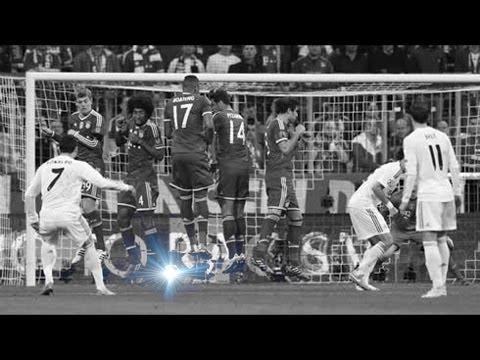 Cristiano Ronaldo ● 2 Brilliant Under The Wall Free Kick Goals ● English Commentaries