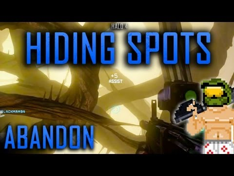 Halo 4 Hiding Spots: Abandon