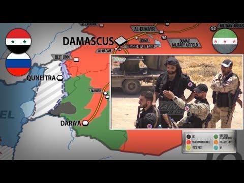29 мая 2018. Военная обстановка в Сирии. Сирийская армия стягивает войска на юг Сирии.