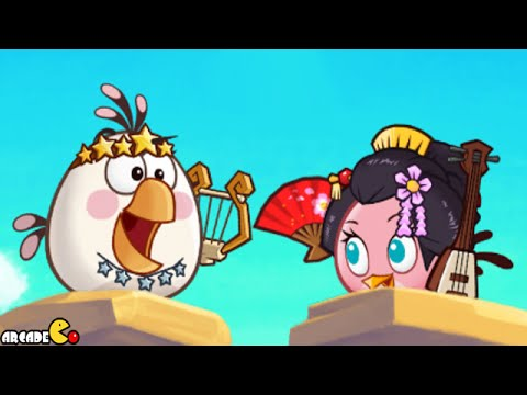 Angry Birds Fight! - NEW UPDATE Stella Is Available To Unlock Flower Island Gameplay Part 50