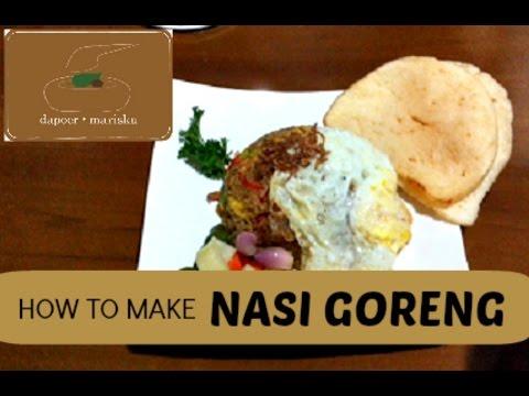 Dapoer Mariska - How to Make Nasi Goreng (Indonesian Fried Rice)