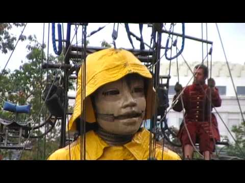 COMPAGNIE ROYAL DE LUXE - Shortfilm 2009 - Part 1 - Die Riesen in Berlin 2009
