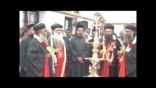 Consecration of Kurichy Orthodox Cheriapally. Reception to HH The Catholicos & Bishops.
