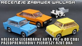 Kolekcja Legendarne Auta PRL-u od Cobi - pierwszy rzut oka - Recenzje Zabawek Wallasa