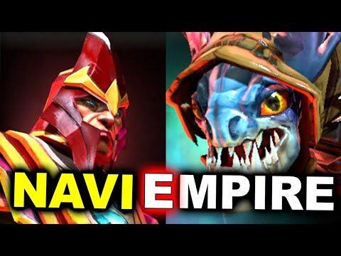 NAVI vs EMPIRE - TOTALLY DESTROYED! - DotaPit Minor DOTA 2
