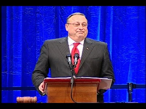 2011 Inauguration of Maine Governor Paul R. LePage