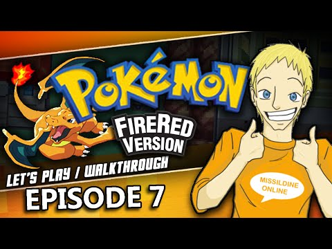 Pokemon Fire Red & Leaf Green Walkthrough | Episode 7 | How to do the Nugget Bridge Trick!