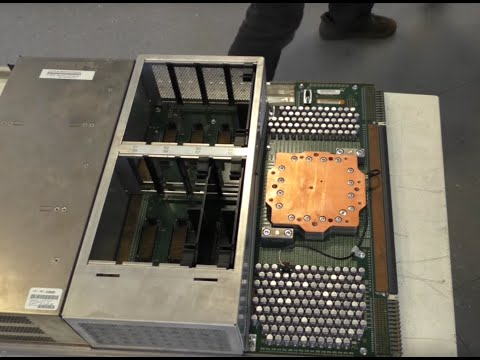 Playing with Junk 31 - IBM Z9 Mainframe Computer