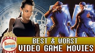 Best & Worst Video Game Movies