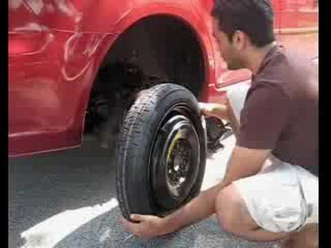 Mazda 6 Tire Change Youtube