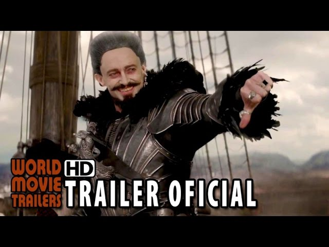 Peter Pan Trailer Oficial #2 Legendado (2015) - Hugh Jackman, Levi Miller HD
