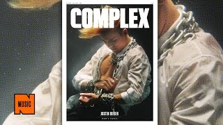 Justin Bieber Channels Houdini Behind-The-Scenes at Complex Cover Shoot