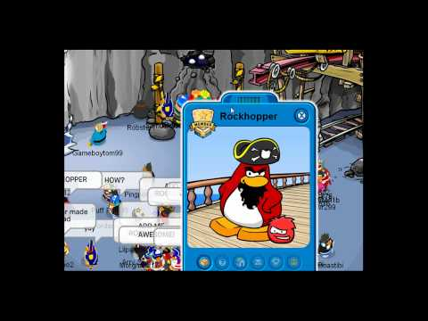 ClubPenguin Rockhopper 2010 March Yarr Found!
