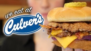 FIRST TIME TO CULVERS
