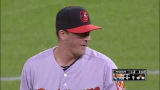 Orioles' Kevin Gausman touches 100 mph with his Fastball @MLB