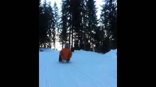 Emma and Lufuno in Switzerland - Snow, sun and fun
