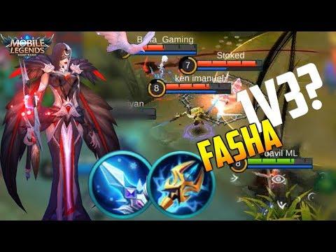 FASHA 1 SHOT RANKED GAMEPLAY! MOBILE LEGENDS NEW HERO FASHA GAMEPLAY