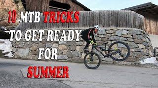 10 MTB TRICKS to get ready for SUMMER / Gabriel Wibmer