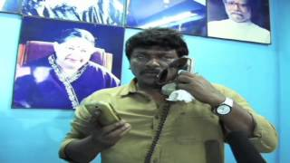 R Parthiban Participates In An Anti-Piracy Raid At Burma Bazaar