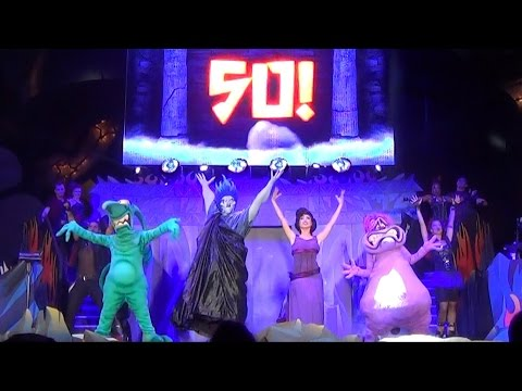 FULL Villains Unleashed Hades Hangout Show w/ Intro of 50 Villains Including Megara, Oogie Boogie