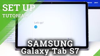 How to Perform First Setup Process in Samsung Galaxy Tab S7 – Configuration / Initialization