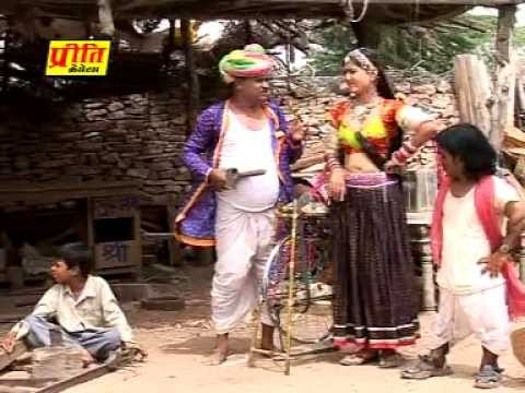 Chaku Chhuri Dhar Dhiravo Rajasthani New Funny & Comedy Movie Video Song By Pukhraj Nadsar (part 3) video