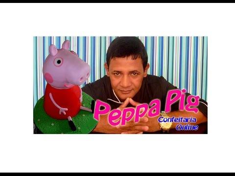 Bolo Peppa Pig – passo a passo