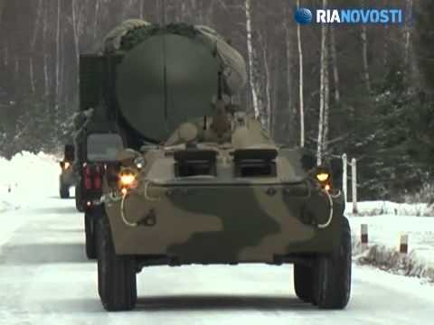 Missiles that can penetrate any defense - Yars systems on alert