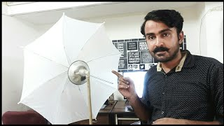 My Diy Studio Lighting Setup With Light Stand For YouTube Videos in 500rs Only