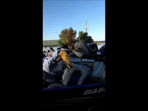 8.45lb Bass Caught On Toledo Bend LSUS Fishing Team