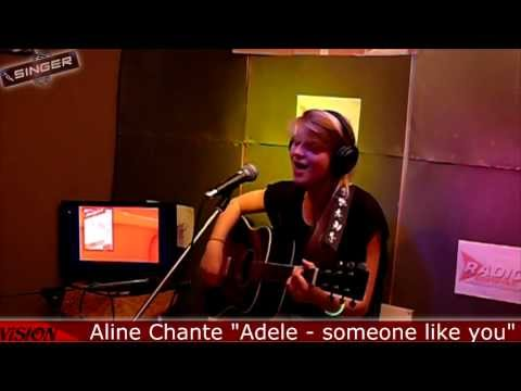 "[TOP SINGER #1] Aline Oger Chante ""Adele - Someone like you"" (Live) - Radio Compile"