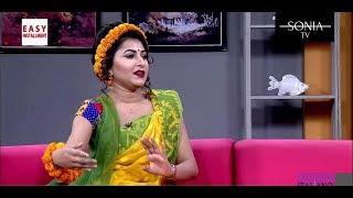 Closeup one singer Liza on Falguni dress - 2017