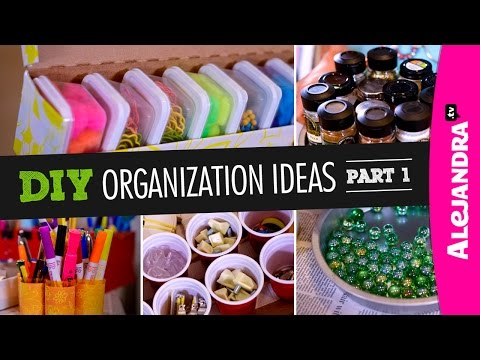 DIY Organization Ideas (Part 1)