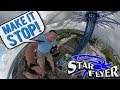 """Screaming """"MAKE IT STOP"""" On The World's Tallest Swing Ride    ORLANDO STAR FLYER"""