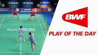 Play Of The Day   Badminton R16 - Danisa Denmark Open 2017