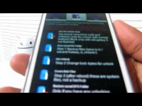 Como desbloquear Galaxy SII para cualquier compañía telefónica (Español Mx)