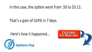 Options Pop Case Study - Passive Income