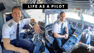 THE GOOD AND THE BAD OF BEING AN AIRLINE PILOT | FLYINGWITHGARRETT EP5