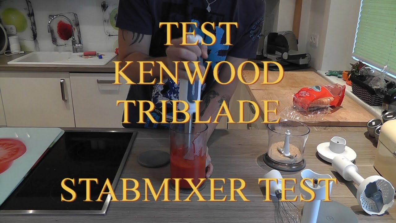 test stabmixer kenwood triblade hb 724 deutsch youtube. Black Bedroom Furniture Sets. Home Design Ideas