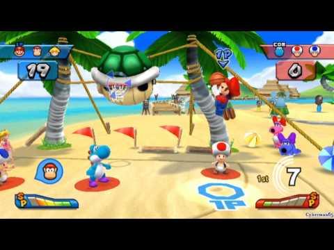 Mario Sports Mix [Part 8 – Basketball ~ Mushroom Cup]