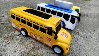 Cars Toys Videos for Kids - Police Bus, Airplane Video with ABC Nursery Rhymes