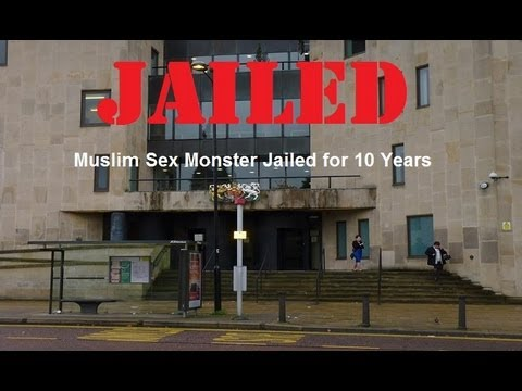 Muslim Sex Monster Jailed For 10 Years video
