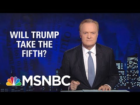 Lawrence: If Subpoenaed By Grand Jury, Will Donald Trump Take The Fifth? | The Last Word | MSNBC
