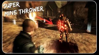 SUPER MINE THROWER| Resident Evil 4 HD