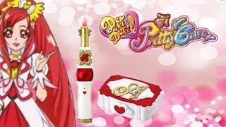 Doki Doki Pretty Cure (Glitter Force) Cure Ace Rouge & Palette (RECENSIONE)