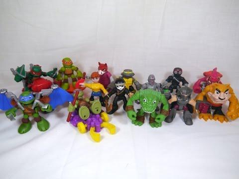 Teenage Mutant Ninja Turtles: Half Shell Heroes - Basic Figures Wave 1 $6.97 - $8.99 Each at Most Major Retailers --- Blog Post: http://wp.me/pJgaa-2ek Toku ...