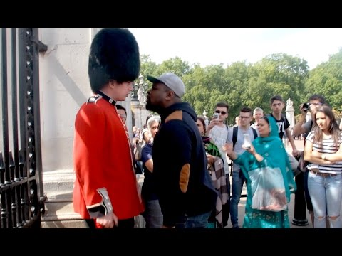 Make way for The Queens Guard Social Experiment