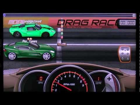 Android Drag Racing Level 5 Aston Martin One-77 1/4 Mile With Tuning