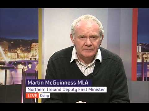 Martin McGuinness on Ian Paisley