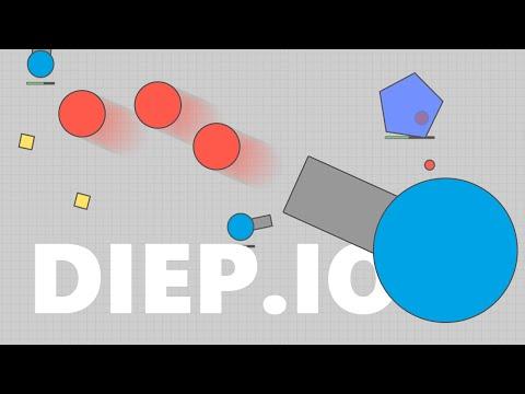Diep.io - Доминируем и унижаем (Веселые браузерные танки, прокачка, 1080p)